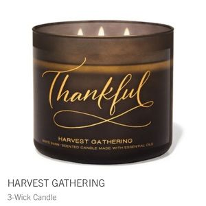 Thankful 3 wick candle